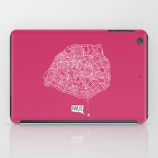 Spidermaps #1 Light iPad Case