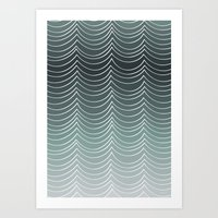 Water By Friztin Art Print