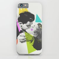 kiss iPhone & iPod Cases featuring Kiss by Zeke Tucker