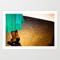 flamenco#2 Art Print