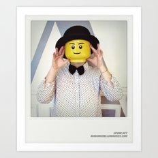Minifig me ! – Everyone has a LEGO piece inside - 12 Art Print