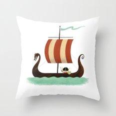 Viking Baby Throw Pillow