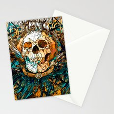 Old Skull Stationery Cards