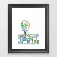 Slice of Life Framed Art Print