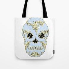 Rococo Skull Tote Bag