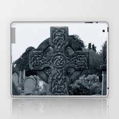 'CELTIC CROSS' Laptop & iPad Skin