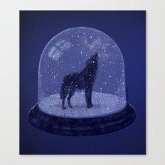Lone Wolf Canvas Print