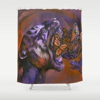 Gentle Roar Shower Curtain