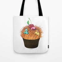 Hairy Cupcake Tote Bag