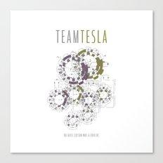 Team Tesla Canvas Print