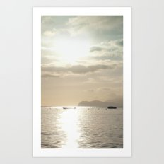 Brightly Sea Art Print