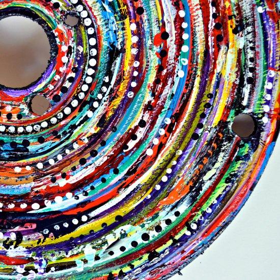 Color Vortex Art Print