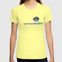 Mabe Womens Fitted Tee Lemon SMALL