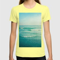 only this moment 2 Womens Fitted Tee Lemon SMALL