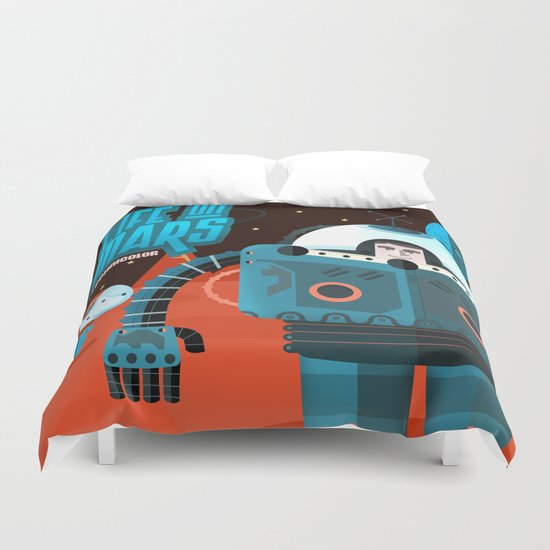 Life on mars Duvet Cover