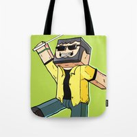 Block Sighted - Minecraft Avatar Tote Bag