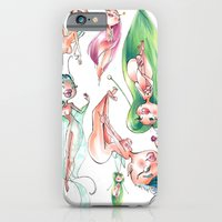 iPhone & iPod Case featuring Pixie Pattern by Melanie Coutavas