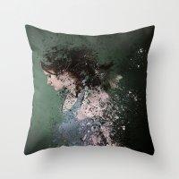 Terminate Throw Pillow