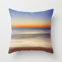 Bright Horizon  Throw Pillow