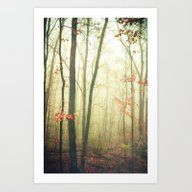 The Woods Are Lovely Dar… Art Print