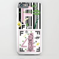 iPhone & iPod Case featuring Four Freedoms Barcode Black by CarmanPetite