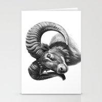 The mouflon G125 Stationery Cards