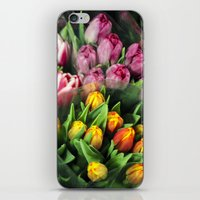 Tulips At Market iPhone & iPod Skin