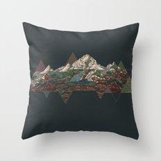 This mountain Throw Pillow
