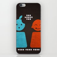 she loves you yeah yeah yeah iPhone & iPod Skin