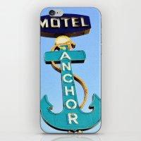 Anchor Motel iPhone & iPod Skin