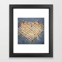 :: You Knit Me Together … Framed Art Print