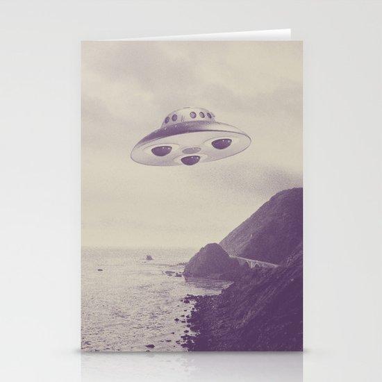 UFO Stationery Card