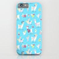 Alpaca Pattern iPhone 6 Slim Case