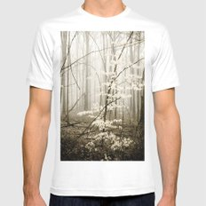 Apparition SMALL White Mens Fitted Tee
