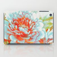 textured floral iPad Case