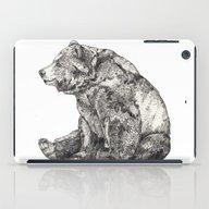 iPad Case featuring Bear // Graphite by Sandra Dieckmann