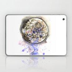 Star Wars Art Painting The Death Star Laptop & iPad Skin