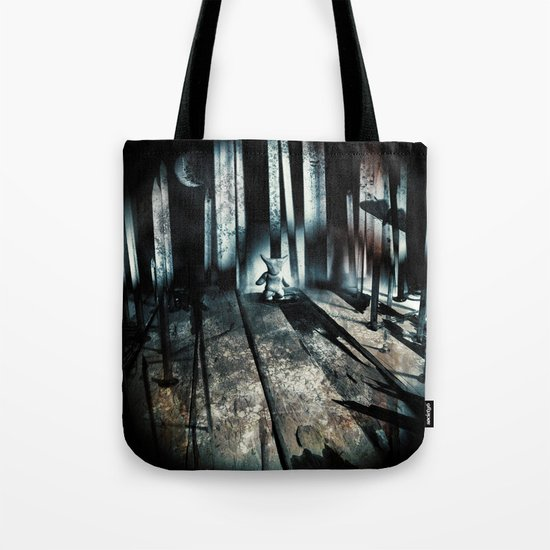 haunted. 9 Tote Bag