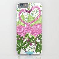 A Flamingo Love Affair iPhone 6 Slim Case