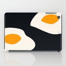 fried eggs iPad Case