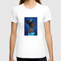 Tiana Womens Fitted Tee White SMALL