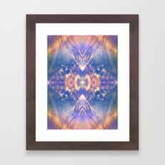 LAVENDER HALO Framed Art Print