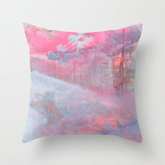 making space Throw Pillow