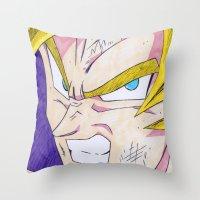 Goku DBZ Throw Pillow