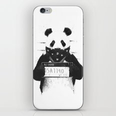 Bad Panda iPhone & iPod Skin