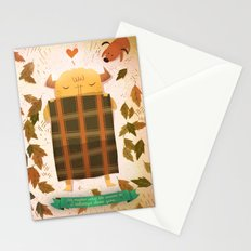 Sleeping Monster Stationery Cards