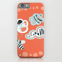 iPhone & iPod Case featuring Fluttersky by Sarah Doherty