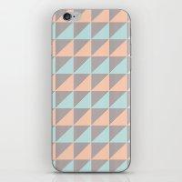 Triangles. iPhone & iPod Skin