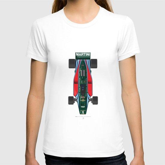 Outline Series N.º2, Mario Andretti, Lotus 80-Ford 1980 T-shirt