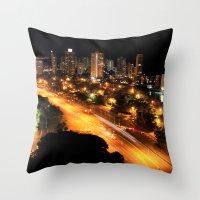 Gold Coast Highway Throw Pillow